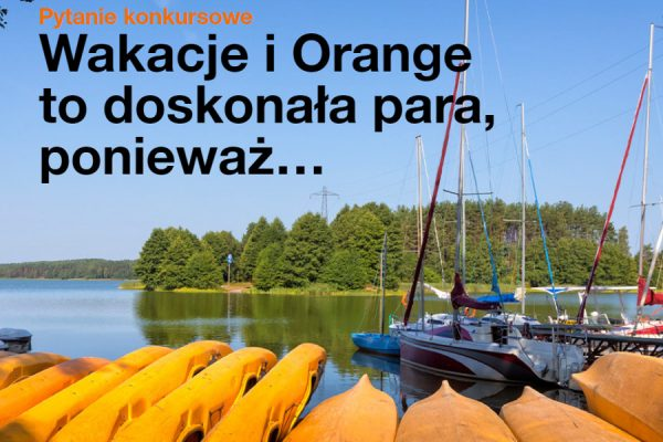 Orange do wygrania 30000 zł