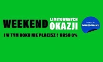 Weekend limitowanych okazji na RTV EURO AGD – RRSO 0%!