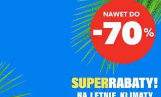 Nawet 70% taniej na wakacje z RTV EURO AGD!