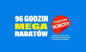 96 godzin megarabatów na RTV EURO AGD