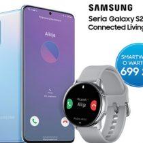 Samsung Galaxy Watch Active gratis na wakacje z Galaxy S20!