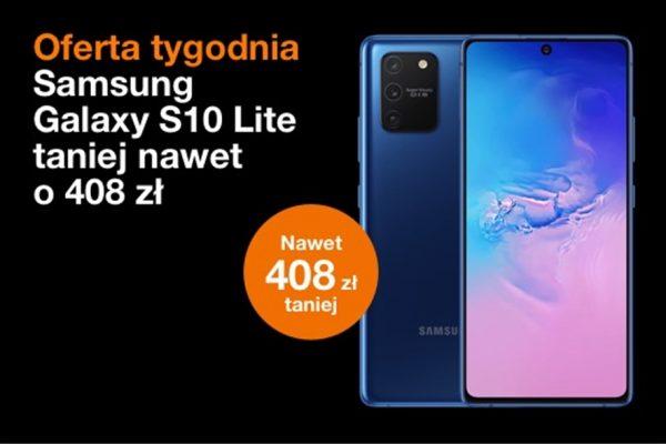 Samsung Glalxy S10 Lite taniej o 408 zł