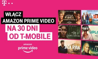 Amazon Prime Video w T-Mobile na 30 dni za darmo!