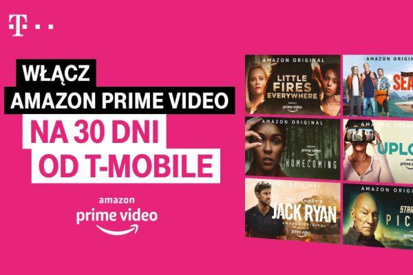 Amazon Prime Video za 0 zł w T-Mobile