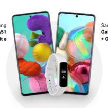 3 Samsungi Galaxy z opaską fit w T-Mobile