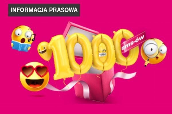 1000 darmowych SMS-ów w T-Mobile