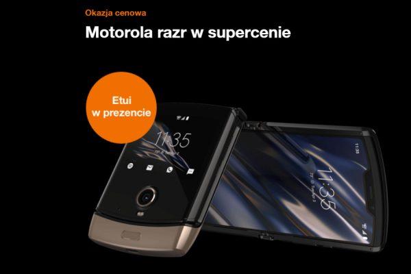 Motorola razr 2019 promocja