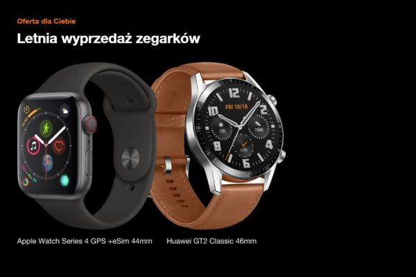 smartwatch w Orange promocja