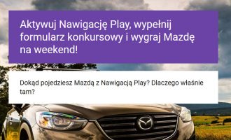 Konkurs Play – do wygrania Mazda CX-5 na weekend