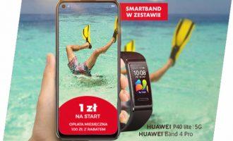Wakacyjne zestawy Huawei w Plusie