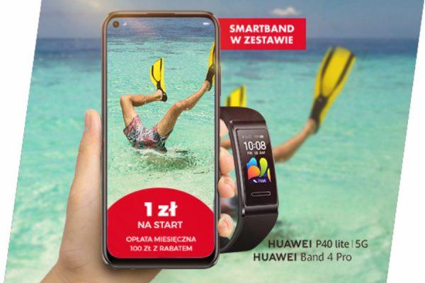 Plus Huawei na wakacje promocja