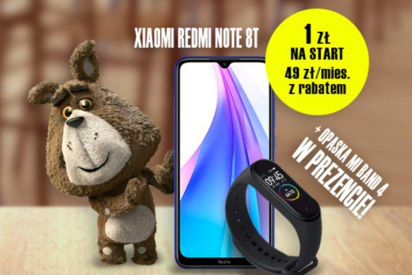 Plush Redmi Note 8T promocja