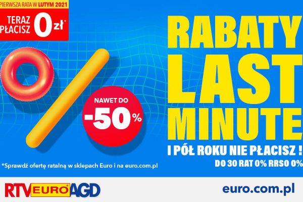 RTV EURO AGD raty za pół roku 0%
