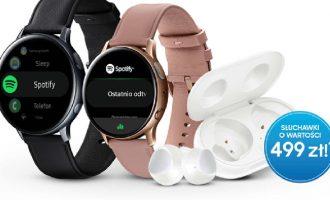 Samsung Galaxy Watch Active2 z gratisem wartym 500 zł!