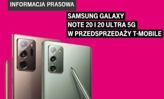Przedsprzedaż Samsunga Galaxy Note20 i 20 Ultra w T-Mobile!