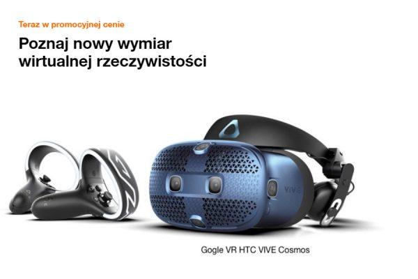 HTV Vive Cosmos gogle VR promocja