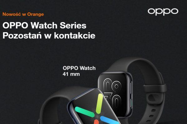 zegarki OPPO w Orange za 0 zł