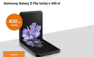 Samsung Galaxy Z Flip taniej o 400 zł w Orange