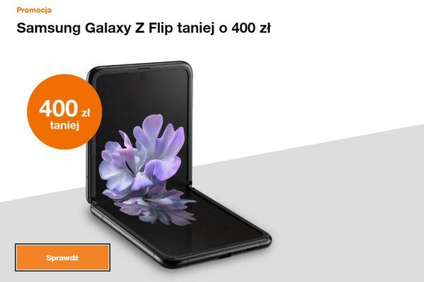 Samsung Galaxy Z Flip promocja