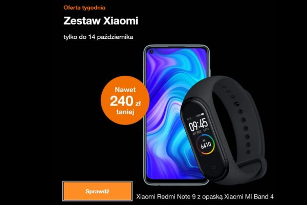 Zestaw Xiaomi promocja Orange