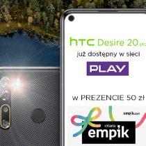 HTC Desire 20 Pro z prezentem w Play