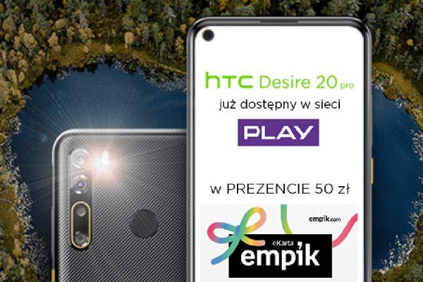 HTC Desire 20 Pro promocja empik.com