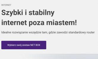Internet Play NET BOX jeszcze taniej!