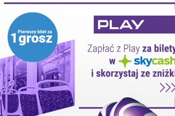 Play SkyCash promocja bilet