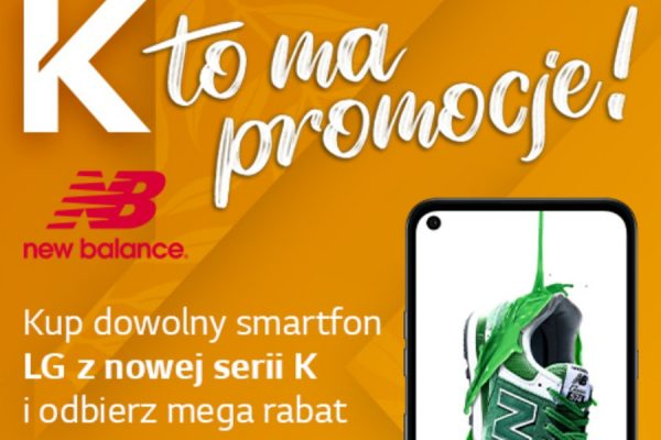 LG K61 promocja New Balance
