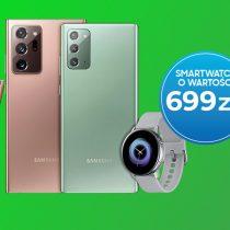 Zegarek w prezencie z Samsungiem Galaxy Note20 w Plusie