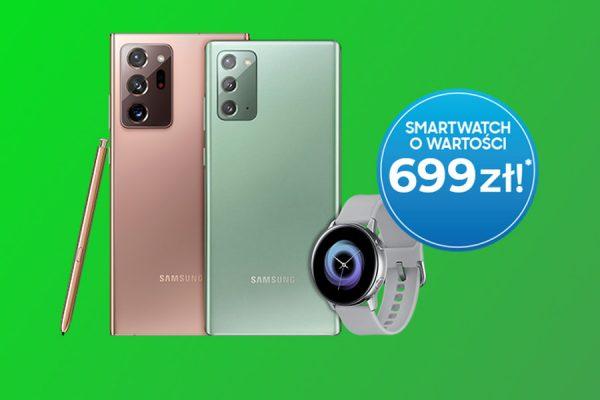 Samsung Galaxy Note20 promocja