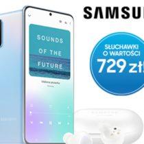 Samsung Galaxy S20 + słuchawki Galaxy Buds+ gratis w Plusie