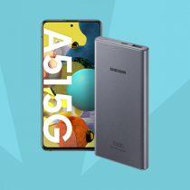 Samsung Galaxy A51 5G + powerbank w Plush ABO