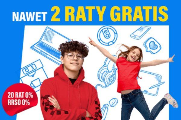 RTV EURO AGD promocja 2 raty gratis