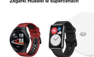 Huawei Watch Fit + waga w Orange – przedsprzedaż