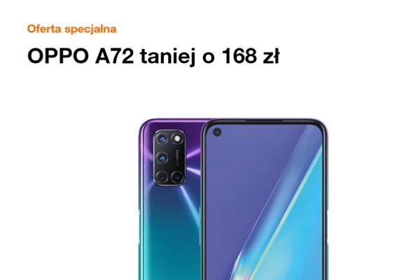 OPPO A72 promocja