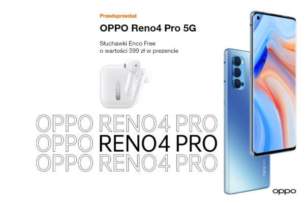 OPPO Reno 4 Pro promocja