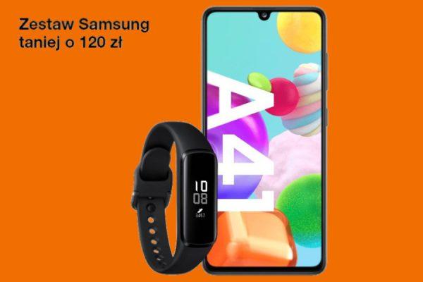 Samsung Galaxy A41 promocja