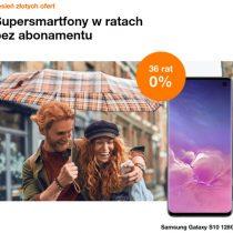 Jesień złotych ofert w Orange – telefony na 36 rat 0%