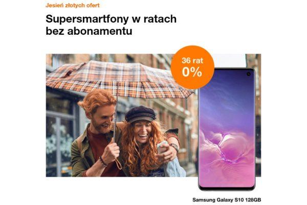 Orange telefony na raty 0%