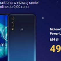 Play wraca do nocnych promocji! Tanieje Motorola G8 Power Lite