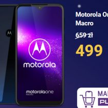 Nocna promocja Play – Motorola One Macro tańsza o 160 zł