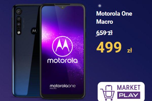Motorola One Macro promocja