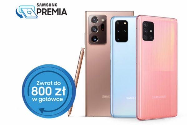 Samsung zwrot 800 zł