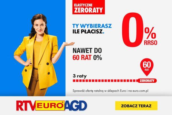 RTV EURO AGD promocja raty