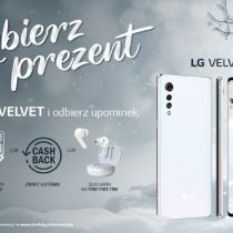 Promocja LG – LG Velvet z 3 prezentami do wyboru u operatorów GSM