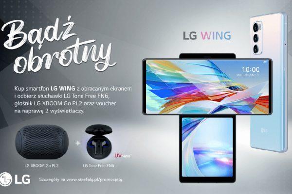 LG Wing przecena