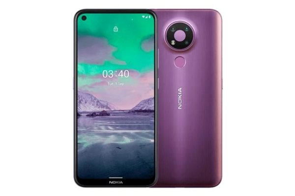 Nokia 3.4 fiolet