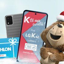LG K42 w Plusie ze świąteczną premią 150 zł