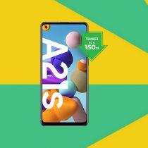 Samsung Galaxy A21s taniej o 150 zł w Plush ABO